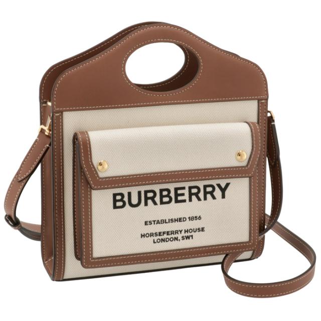 バーバリー BURBERRY 2021年秋冬新作 ショルダーバッグ ミニ ポケットバッグ 2WAYハンドバッグ 8039361