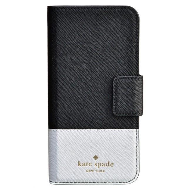 ケイトスペード KATE SPADE 2017年秋冬新作 leather wrap folio - 7 アイフォン7 iPhoneケース スマホケース 8ARU1645 0007 045