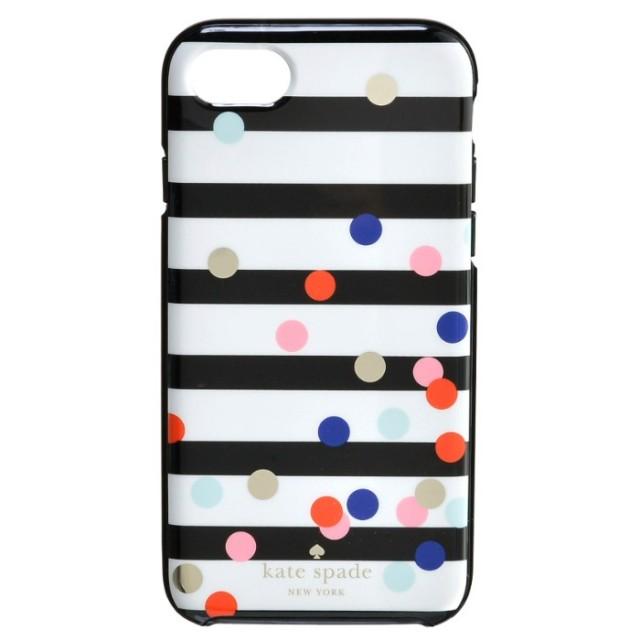 ケイトスペード KATE SPADE 2017年秋冬新作 confetti dot - 7 アイフォン7 iPhoneケース スマホケース 8ARU1934 0015 974