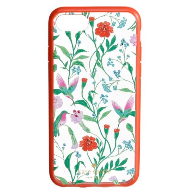 ケイトスペード KATE SPADE 2017年秋冬新作 jeweled jardin clear - 7 アイフォン7 iPhoneケース スマホケース 8ARU1939 0015 915