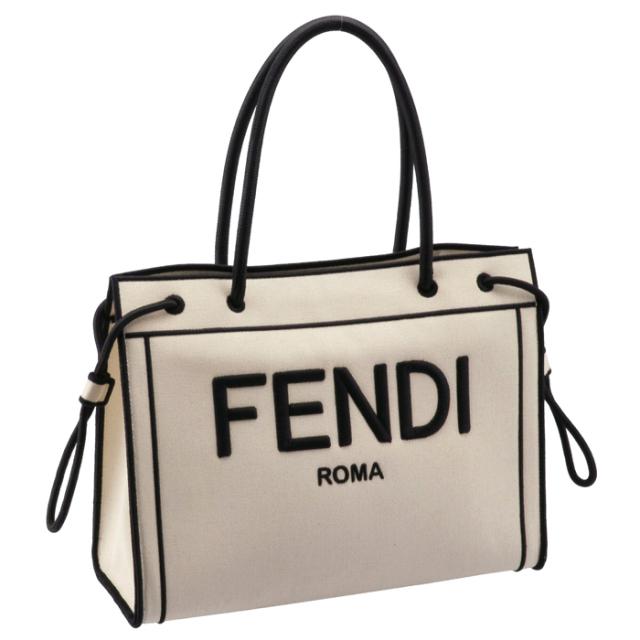 フェンディ FENDI 2020年秋冬新作 トートバッグ ROMAショッパー ミディアムトート トートバッグ 8BH378 AD6A F0APG
