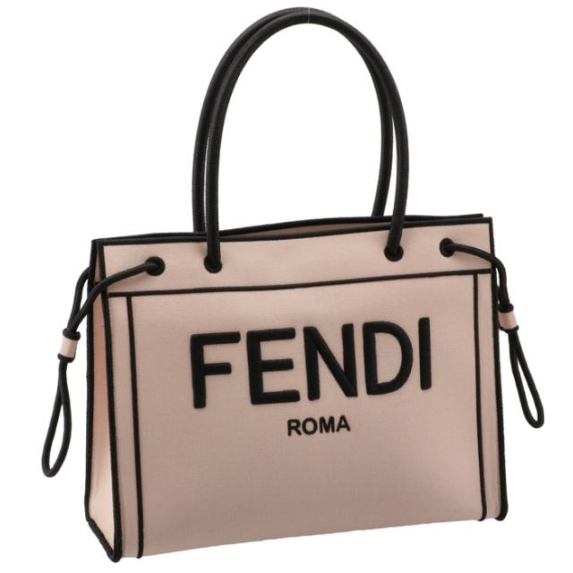 フェンディ FENDI 2020年秋冬新作 トートバッグ ROMAショッパー ミディアムトート トートバッグ 8BH378 AEHV F1DB1