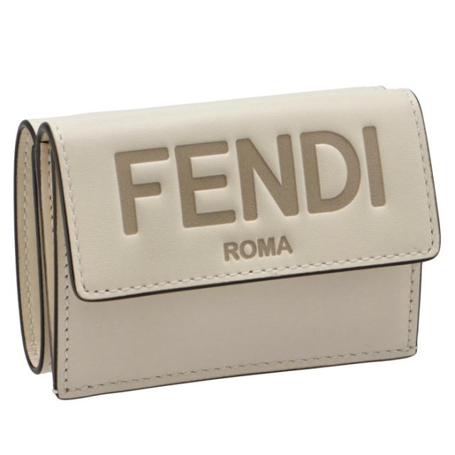 フェンディ FENDI 財布 三つ折り ミニ財布 FENDI ROMA 三つ折り財布 8M0395 AAYZ F0K7E