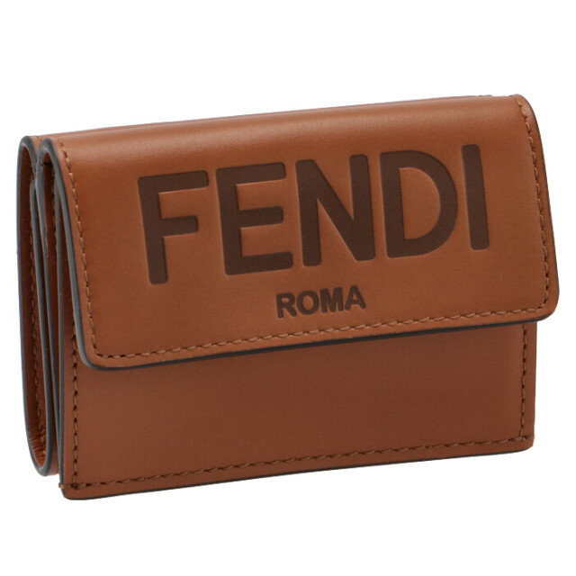 フェンディ FENDI 財布 三つ折り ミニ財布 FENDI ROMA 三つ折り財布 8M0395 AAYZ F0QVK
