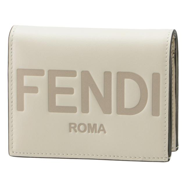 フェンディ FENDI 財布 二つ折り ミニ財布 FENDI ROMA 二つ折り財布 8M0420 AAYZ F0K7E