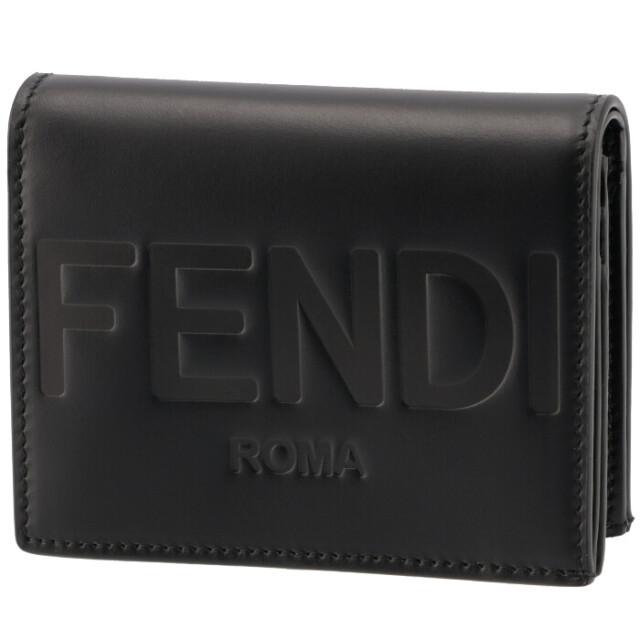 フェンディ FENDI 財布 二つ折り ミニ財布 FENDI ROMA 二つ折り財布 8M0420 AAYZ F0KUR