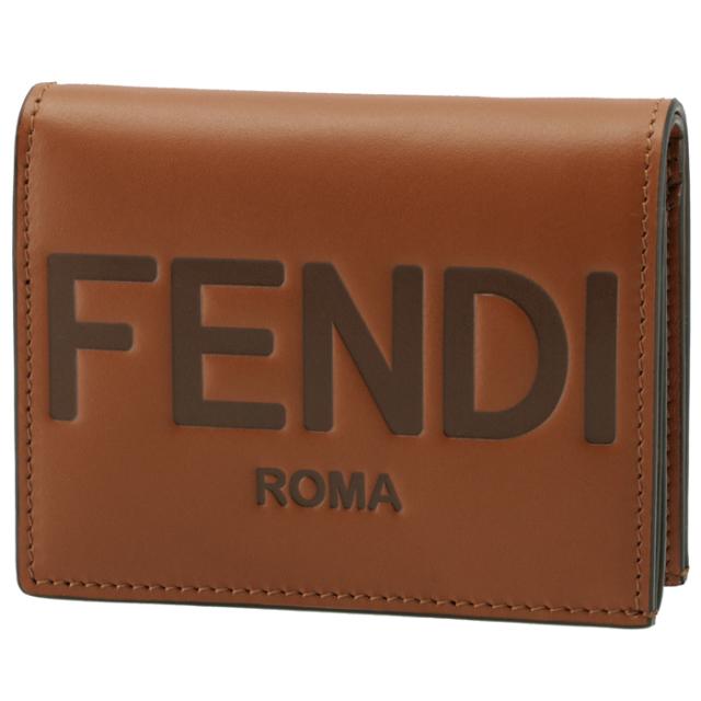 フェンディ FENDI 財布 二つ折り ミニ財布 FENDI ROMA 二つ折り財布 8M0420 AAYZ F0QVK