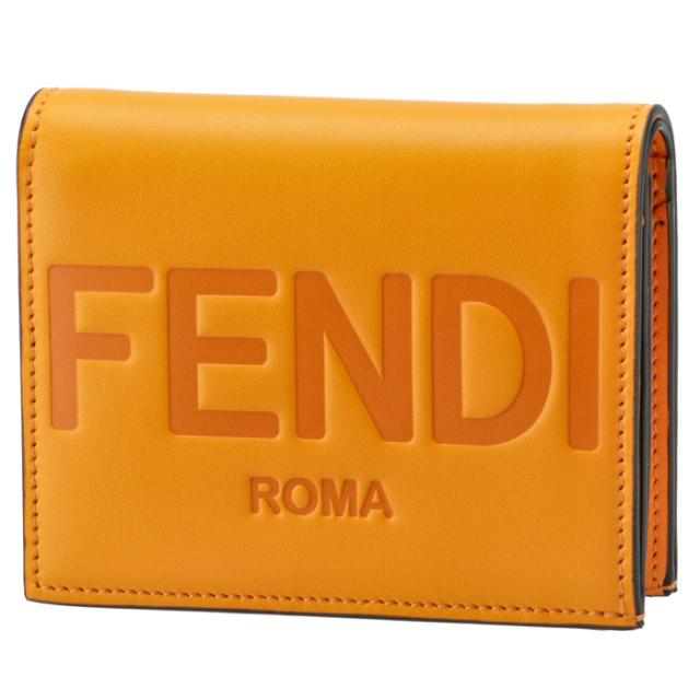 フェンディ FENDI 財布 二つ折り ミニ財布 FENDI ROMA 二つ折り財布 8M0420 AAYZ F1DZH