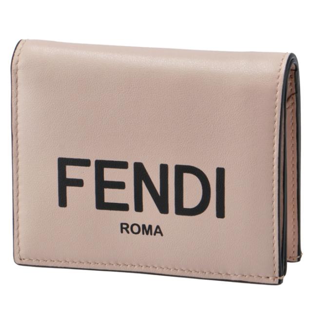 フェンディ FENDI 2020年秋冬新作 財布 二つ折り ミニ財布 FENDI ROMA 二つ折り財布 8M0420 ADP6 F1CN7