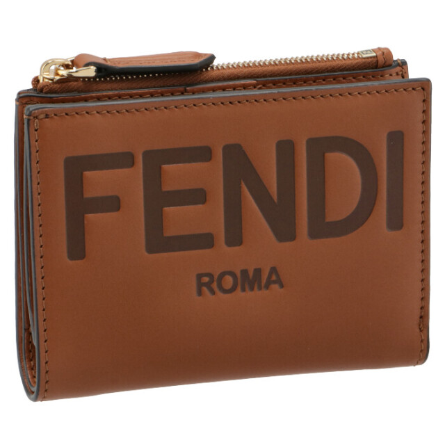 フェンディ FENDI 財布 二つ折り ミニ財布 FENDI ROMA 二つ折り財布 8M0447 AAYZ F0QVK