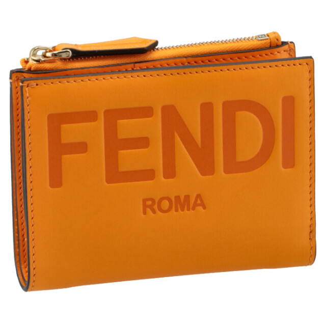 フェンディ FENDI 財布 二つ折り ミニ財布 FENDI ROMA 二つ折り財布 8M0447 AAYZ F1DZH