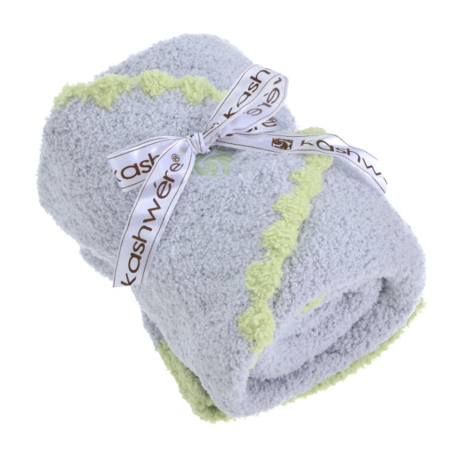 カシウエア KASHWERE  ブランケット&キャップセット SOLID BABY BLANKET BB6717030 0001 0006【GIFT】