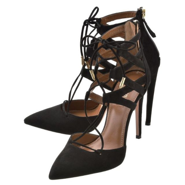 アクアズーラ AQUAZZURA 靴 パンプス スエード BLGI02C LS01 000