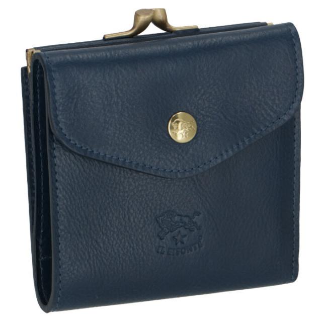 イルビゾンテ IL BISONTE 三つ折り財布 がま口 レディース ユニセックス C0423 P 866