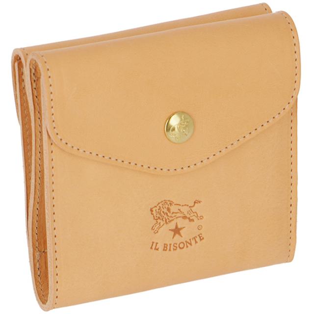 イルビゾンテ IL BISONTE 財布 三つ折り ダブルホック財布 レディース メンズ ユニセックス C0424 P 120