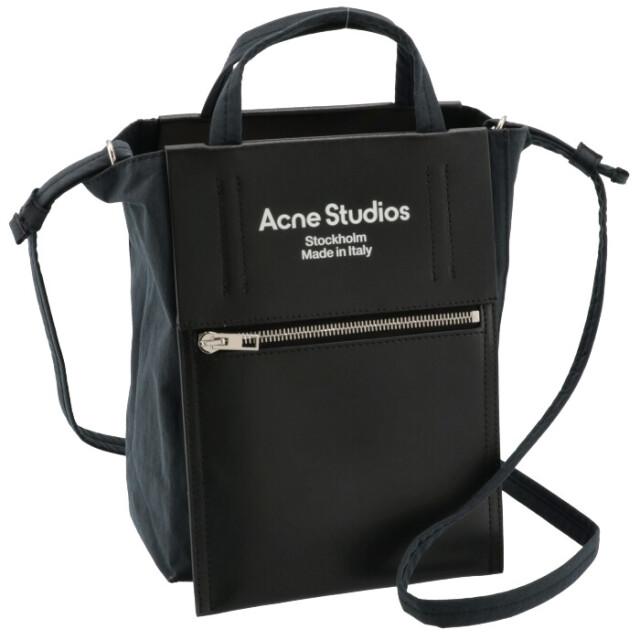 アクネ ストゥディオズ ACNE STUDIOS 2021年秋冬新作 トートバッグ Baker Out ミニ ショルダーバッグ ブラック C10068 0015 0014