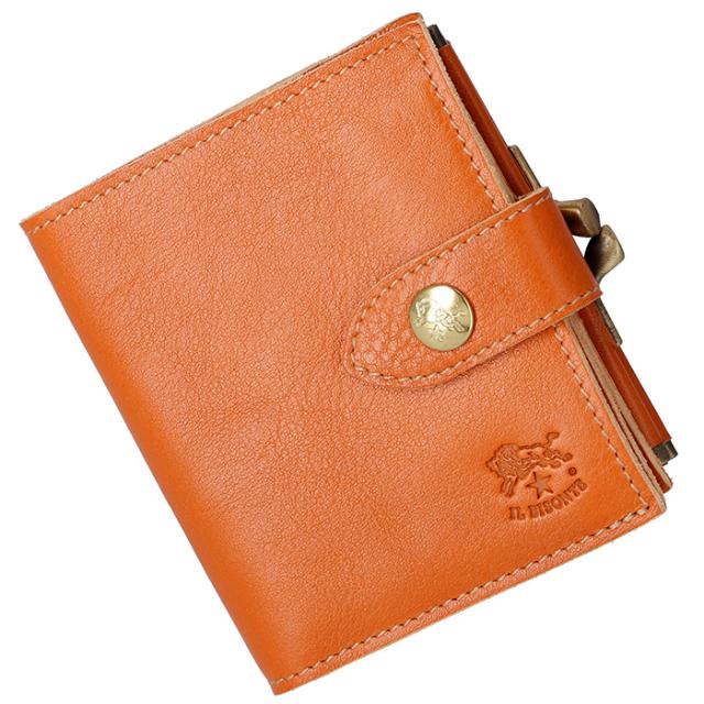 イルビゾンテ IL BISONTE 2018年秋冬新作 財布 がま口  メンズ ミニ財布 二つ折り財布 C1033 P 145