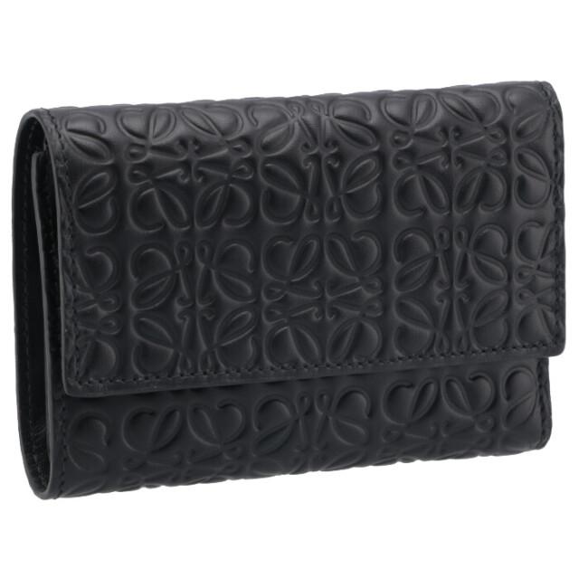 ロエベ LOEWE 財布 三つ折り REPEAT スモール バーティカル ウォレット 三つ折り財布 C499S97X04 0030 1100