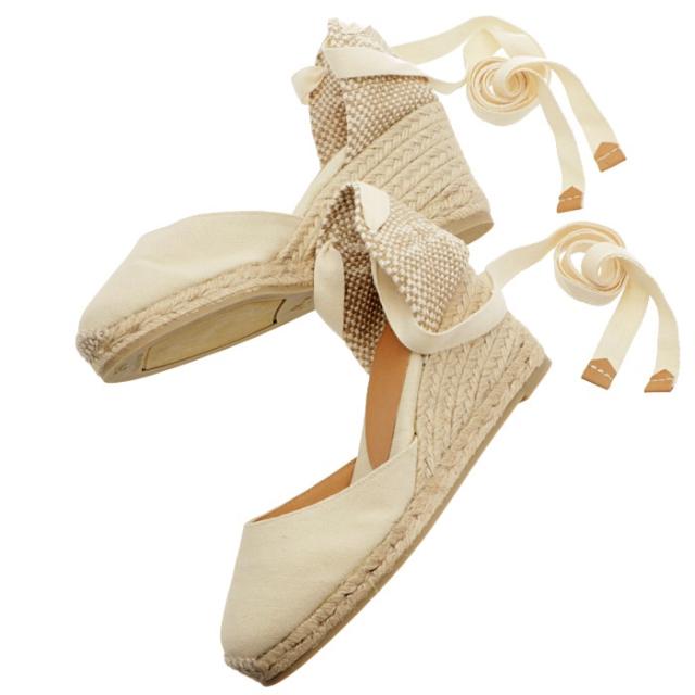 カスタニエール CASTANER DOSALIA ウェッジソール シューズ サンダル 靴 サンダル CARINAH6 001 IVORY