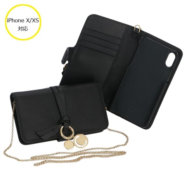 クロエ CHLOE 2020年春夏新作 iPhone X/XSケース アルファベット ALPHABET スマホケース アイフォンX/XSケース CHC19AD743 H9Q 001