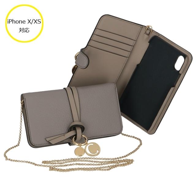 クロエ CHLOE 2020年春夏新作 iPhone X/XSケース アルファベット ALPHABET スマホケース アイフォンX/XSケース CHC19AD743 H9Q 053【06-SS】