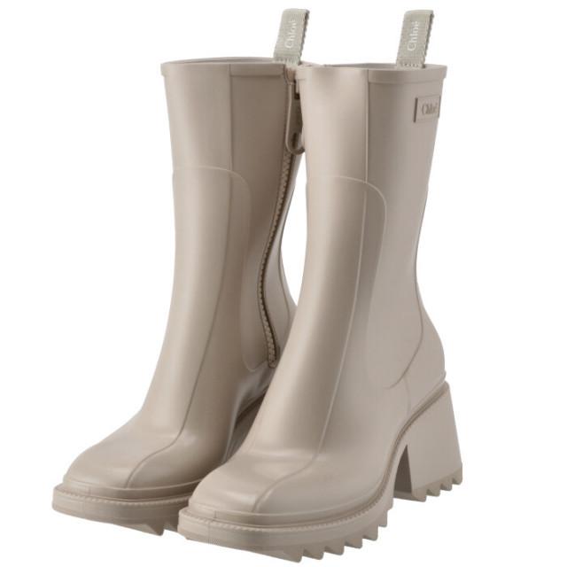 クロエ CHLOE 2021年秋冬新作 レインブーツ Betty シューズ 靴 レインブーツ CHC19W239 G8 28U