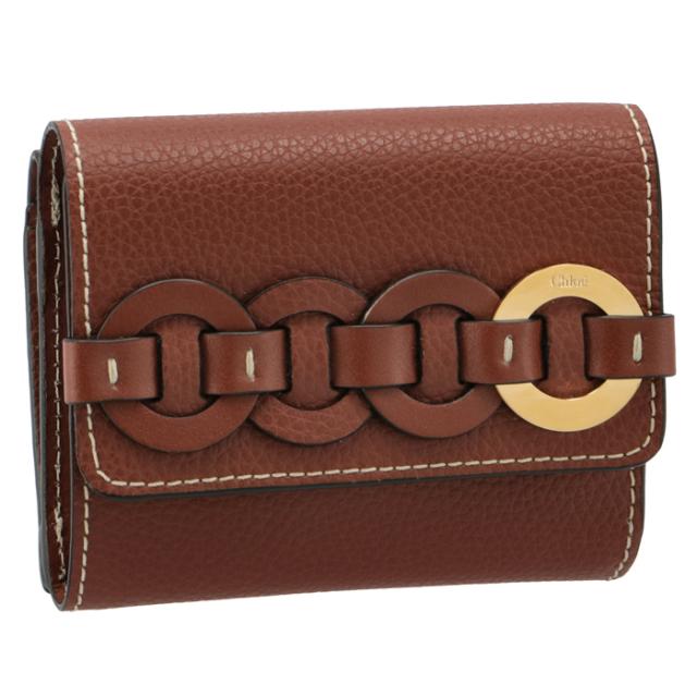 【SALE】クロエ CHLOE 財布 三つ折り DARRYL ミニ財布 三つ折り財布 CHC21UP117 E04 27S