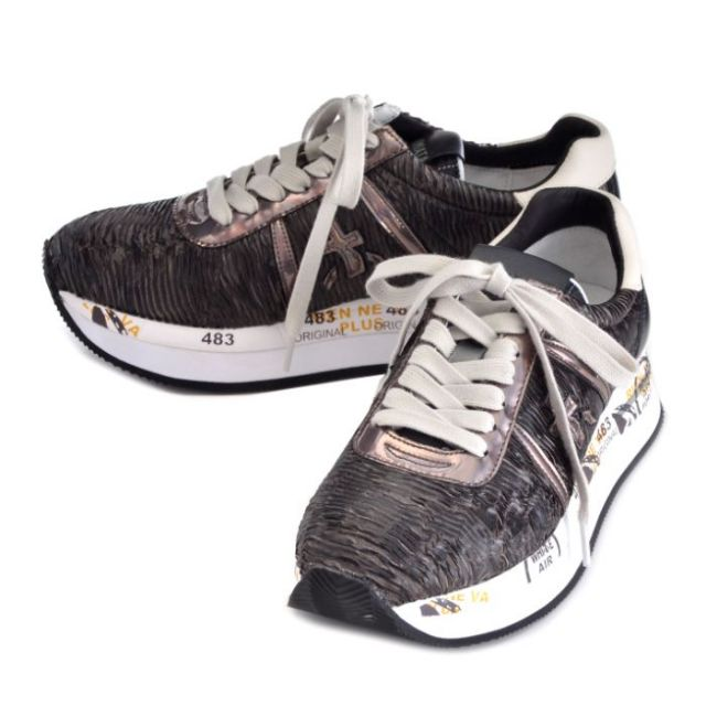 プレミアータ PREMIATA 靴 スニーカー ナイロン×カーフスキン CONNY 0005 1636