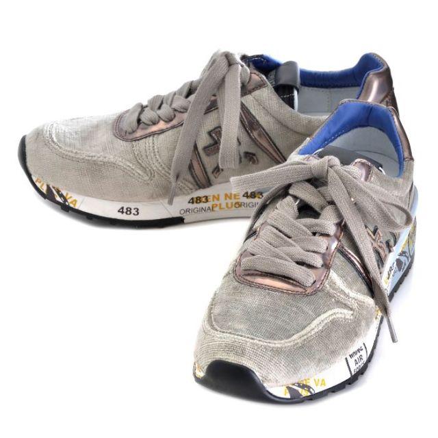 プレミアータ PREMIATA 靴 スニーカー ファブリック×カーフスキン DIANE 0007 1810