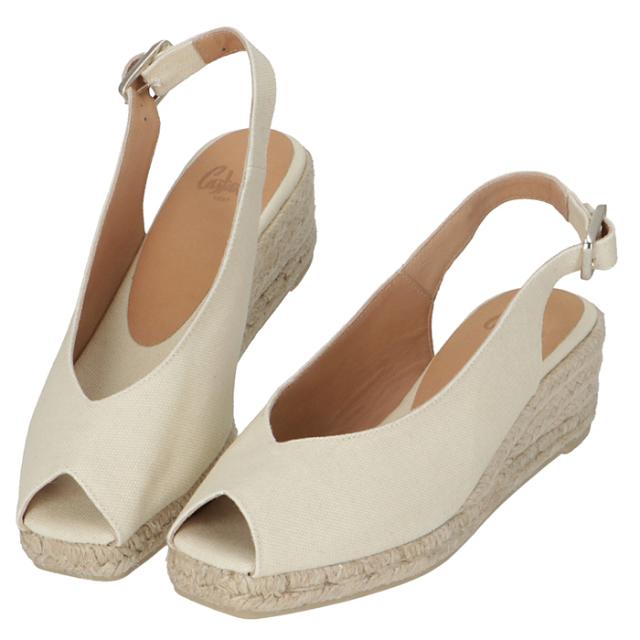 カスタニエール CASTANER 2020年春夏新作 DOSALIA ウェッジソール シューズ サンダル 靴 サンダル DOSALIAH3 001 IVORY