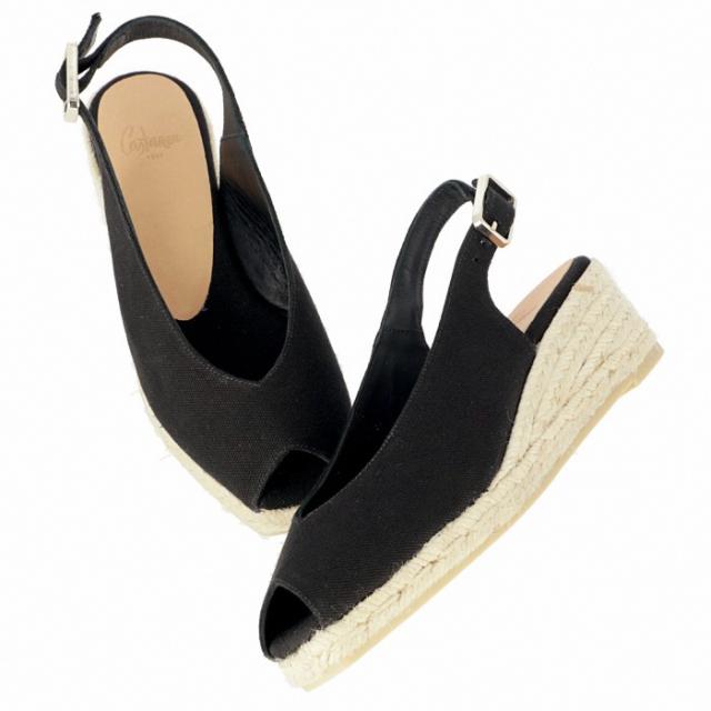 カスタニエール CASTANER 2019年春夏新作 DOSALIA ウェッジソール シューズ サンダル 靴 サンダル DOSALIAH3 001 NEGRO