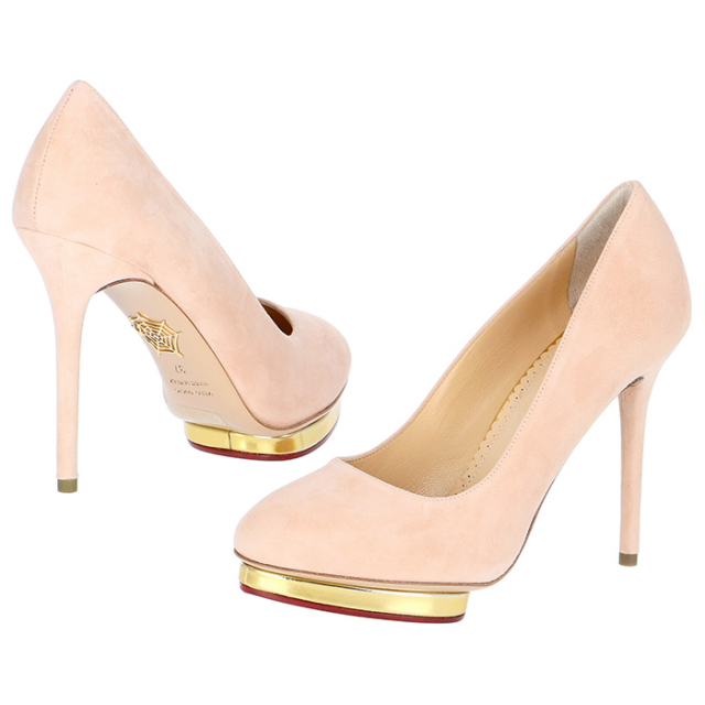 シャーロットオリンピア CHARLOTTE OLYMPIA 靴 パンプス DOTTY 110 E001231 SMC 0691