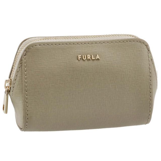フルラ FURLA 2021年秋冬新作 化粧ポーチ ELECTRA スモール コスメポーチ ベージュグレー系 EAW3LN1 B30000 M7Y00