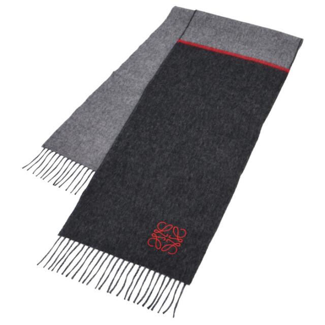 ロエベ LOEWE 2020年秋冬新作 マフラー アナグラム刺繍 スカーフ  スカーフ F810487X01 0057 1121