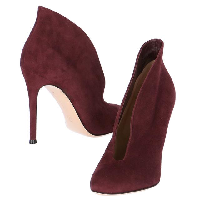 ジャンヴィトロッシ GIANVITO ROSSI 靴 ブーティ シャモア G29450 0002 0003