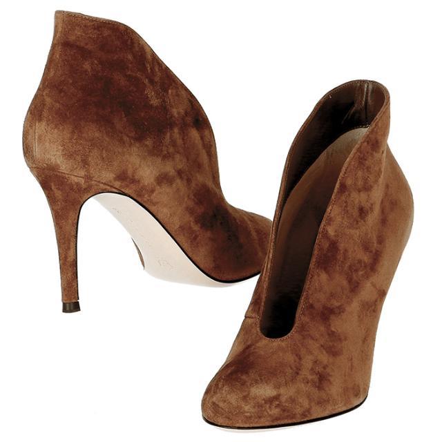ジャンヴィトロッシ GIANVITO ROSSI 靴 ブーティ スエード G29610 0002 0002【06-SS】