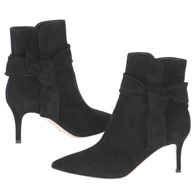 ジャンヴィトロッシ GIANVITO ROSSI 靴 ショートショートブーツ スエード G70507 0002 0001