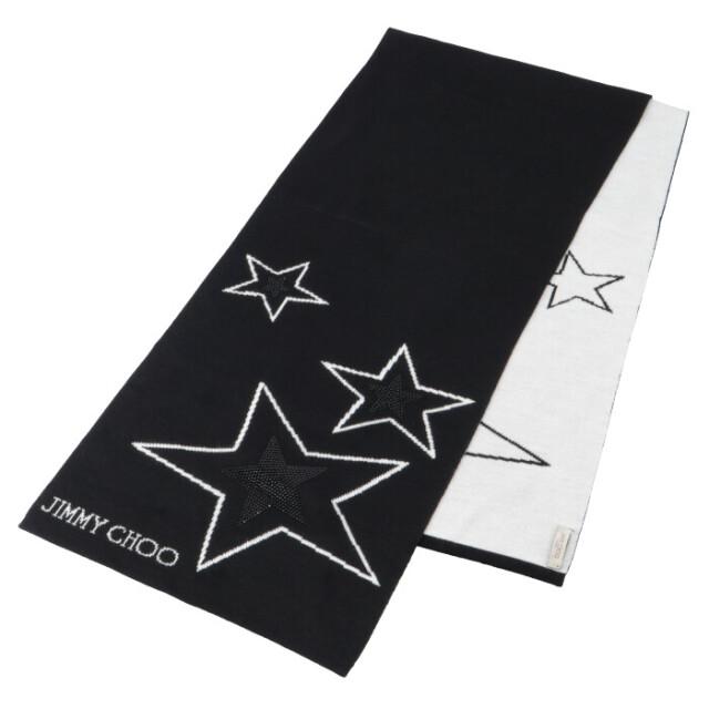 ジミーチュウ JIMMY CHOO 2020年秋冬新作 ロゴ ウール マフラー ストール スカーフ H65096230  200