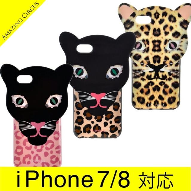 アイフォリア IPHORIA 2017年秋冬新作 Leo Case Brown Leopard I PHONE 7ケース アイフォン7ケース スマホケース 14049 0001