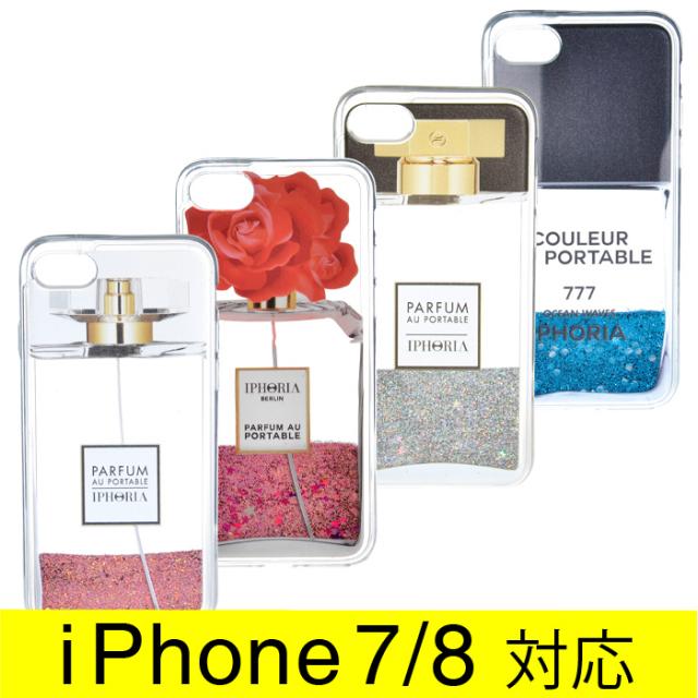アイフォリア IPHORIA 2017年秋冬新作 Liquid Case Parfum au Portable I PHONE 7ケース アイフォン7ケース スマホケース 14023 0001