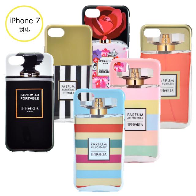 アイフォリア IPHORIA 2017年秋冬新作 Parfum au Portable Blacker tha I PHONE 7/8ケース アイフォン7/8ケース スマホケース 14020 0001