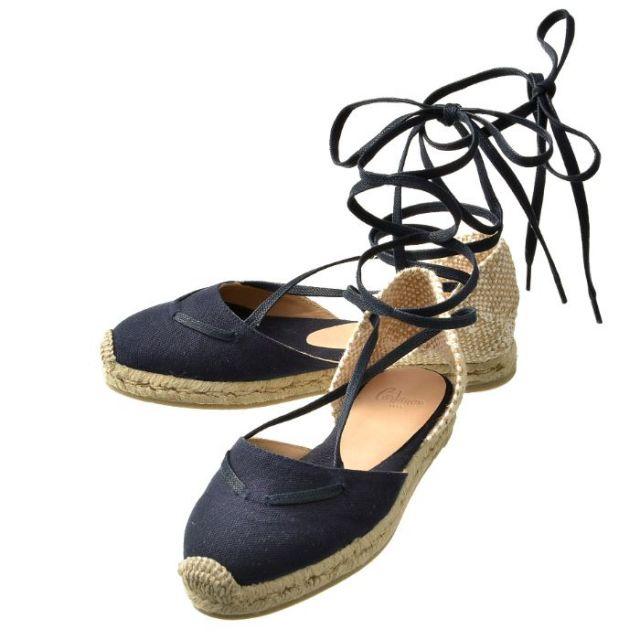 カスタニエール CASTANER 2017年春夏新作 靴 サンダル キャンバス KARA 600 MARINO
