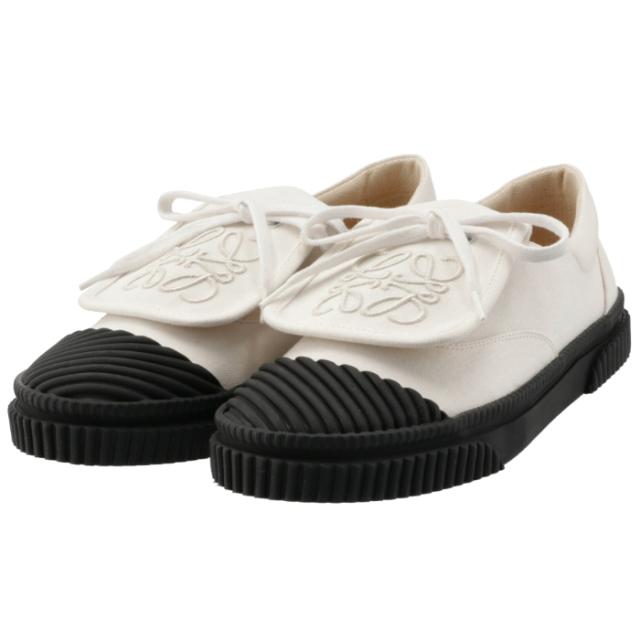 ロエベ LOEWE 2021年秋冬新作 キャンバス スニーカー アナグラム  シューズ 靴 スニーカー L815282X20 0065 1950