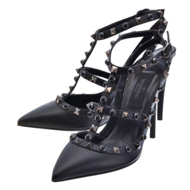ヴァレンティノ・ガラヴァーニ VALENTINO GARAVANI 靴 パンプス カーフスキン LW2S0393 NO3 0NO