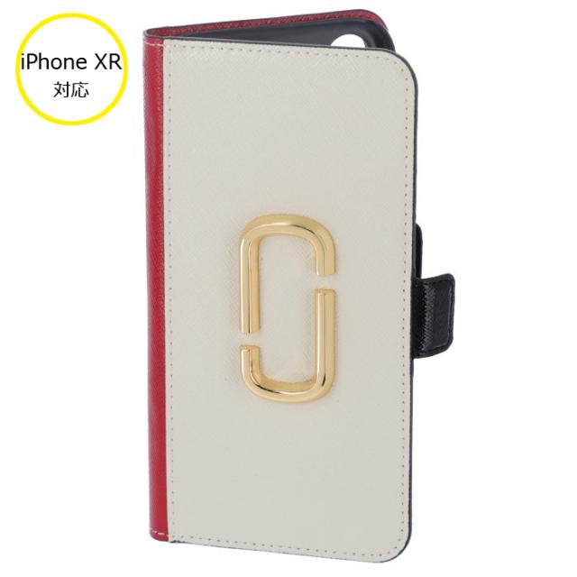 マークジェイコブズ MARC JACOBS 手帳型 iPhone XR ケース Snapshot スナップショット M0014747 0032 178