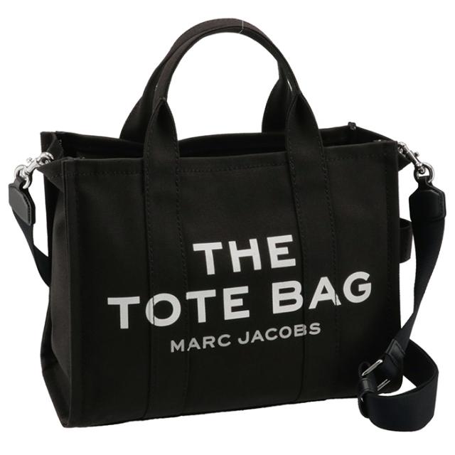 マークジェイコブス MARC JACOBS 2021年秋冬新作 ショルダー トートバッグ THE SMALL TOTE BAG ブラック M0016161 0006 001