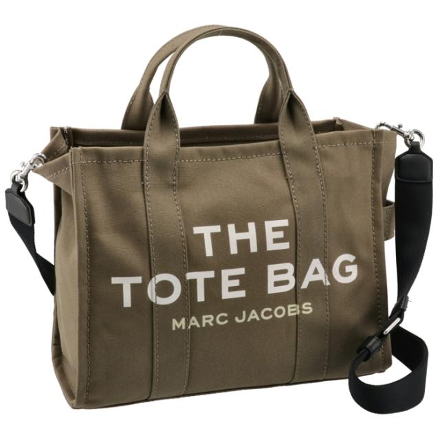 マークジェイコブス MARC JACOBS 2021年秋冬新作 ショルダー トートバッグ THE SMALL TOTE BAG カーキ グリーン系 M0016161 0006 372