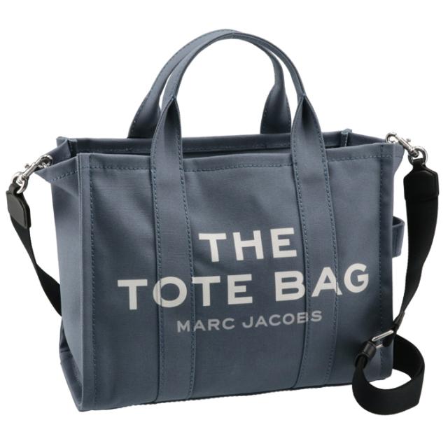 マークジェイコブス MARC JACOBS 2021年秋冬新作 ショルダー トートバッグ THE SMALL TOTE BAG ブルー系 M0016161 0006 481