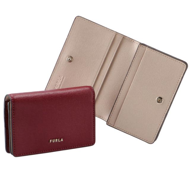 フルラ FURLA 2021年春夏新作 二つ折り カードケース 名刺入れ BABYLON バビロン カードケース PCZ1UNO B30000 0037S