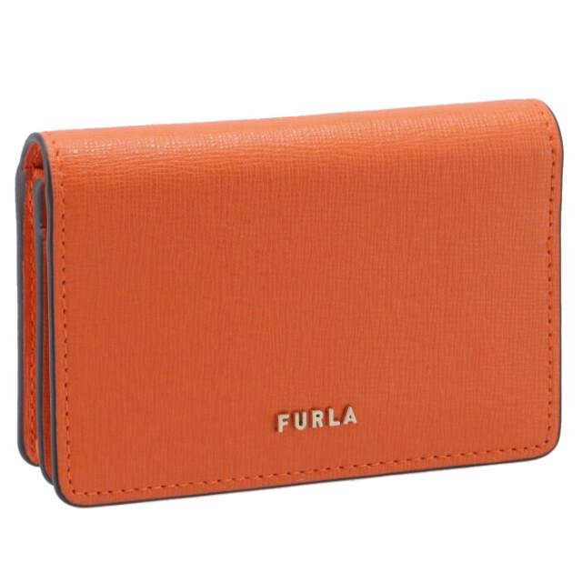 フルラ FURLA 2020年秋冬新作 二つ折り カードケース 名刺入れ BABYLON バビロン カードケース PCZ1UNO B30000 BG600